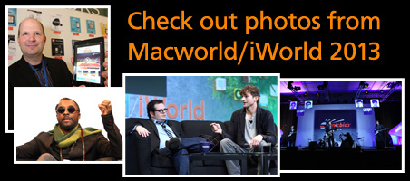 Check out photos from Macworld/iWorld 2013